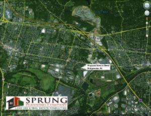 "Bridgewater potential ""Redevelopment"" Area"